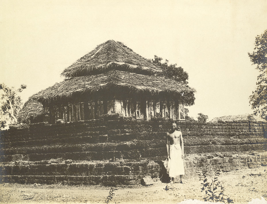 North-west view of Narayanaperumal Temple, Talakolatur, Calicut taluk, Malabar district